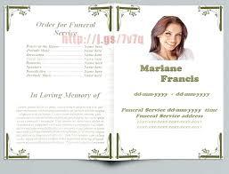 funeral flyer free funeral brochure templates online memorial brochure template