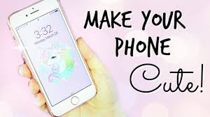 How To Make Your PHONE Look CUTE! Cases ...