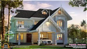 design style european style european model house in kerala