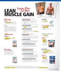 Bodybuilding Diet Chart For Men Cheap Diet Plan For Lean Muscle