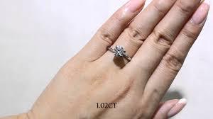 1 carat diamond size jannpaul education diamond size comparison youtube