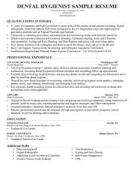 Sample Dental Hygiene Resume Resume Templates Resume And Templates On Pinterest Page Not