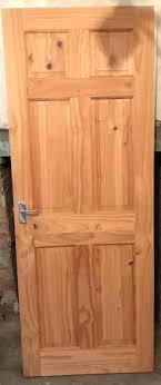 internal solid wood panel doors wooden replace door with glass