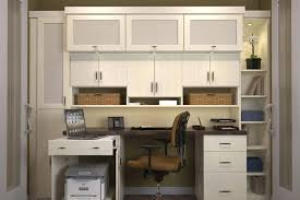 home home office closet ideas cool with dark wooden computer desk also storages wall cabinet