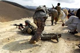 u s department of defense photo essay  a u s army ier left returns fire while afghan national army iers and