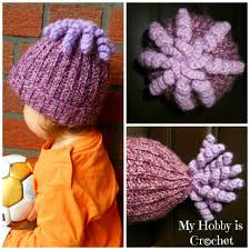Crochet Octopus Hat Pattern Awesome My Hobby Is Crochet Octopus Curly Cue Embellishment For Hats