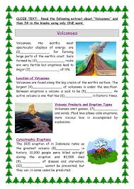 Volcano Worksheets Free Worksheets Library | Download and Print ...
