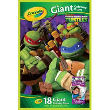 Small Picture Crayola 18 Page Nickelodeon Teenage Mutant Ninja Turtles Coloring Book