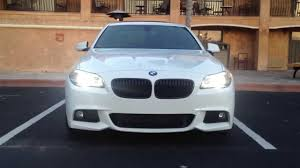 All BMW Models 2011 bmw 535i review : 2013 BMW 535i M Sport Head/Tail Lights(HD) - YouTube