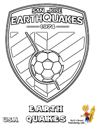 Small Picture Coloring Pages Soccer Coloring Sheets Fifa Usa Mls West Free