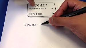 Fifth Grade Decimal Expanded Form And Word Form Youtube