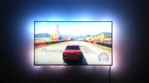 Ambient Light Behind Tv Ambiscreen Stand Alone Ambient Display Back Lighting For Any Device