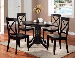 36 round kitchen table set images saving small dining room spaces with inch solid wood throughout also incredible cloth decor and chairs 2018