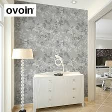 Silver Wallpaper For Bedroom Aliexpresscom Buy Modern Classic Satin Natural Leaf Branches