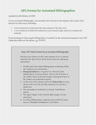 10 Apa Annotated Bibliography Example Resume Samples