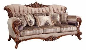 Traditional Living Room Sets Furniture 605 Bordeaux Traditional Living Room Set In Rich Cherry By