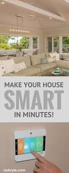replace your existing light switch with nubryte smart home security touch free lighting