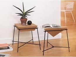 cork furniture. Simple Cork Side Table Cork Basil  PETITE FRITURE Editeur De Design On Cork Furniture