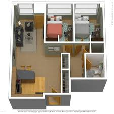 2 bed deluxe a 750 sq ft