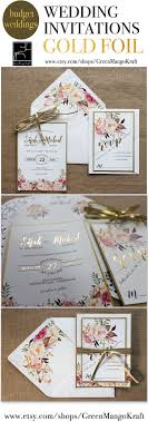 best 25 floral invitation ideas on pinterest floral wedding Budget Wedding Invitations Canberra gold foil wedding invitations rustic wedding invitation suite blush pink watercolor floral invite bohemian invite set Budget Wedding Invitation Packages
