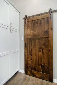 barn door closet doors custom woodwork .