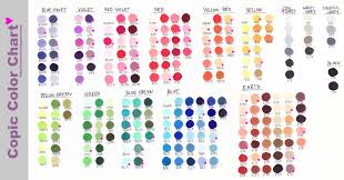 copic ciao color chart copic marker color chart by nao ren on deviantart