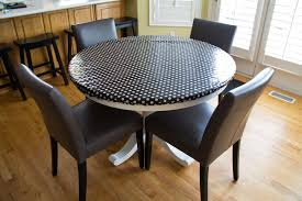 42 round fitted vinyl tablecloth