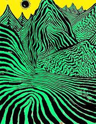 Trippy Patterns Impressive Trippy Mountains Jua Pinterest Psychedelic Psychedelic