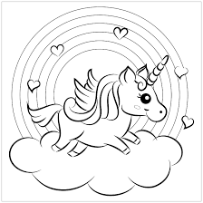 The unicorn is considered a majestic and noble creature that drinks morning dew and doesn't hurt any plant or animal. Unicorns Free To Color For Kids Unicorns Kids Coloring Pages
