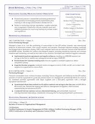 Purchase Assistant Resume Format Inspirational 12 New Procurement