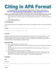 019 How To Cite An Essay In Apa Example Poem Using Style Step