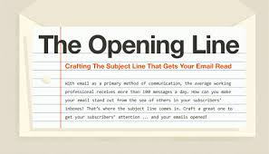 Email Cover Letter Subject Line How To Write The Perfect Email Subject Line Infographic