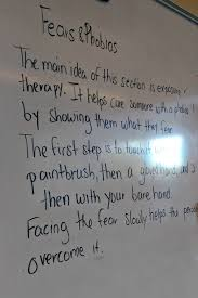 fears scares and phobias oh my thurgood marshall middle school the next step was for the students to gather everything they knew about fears and phobias and turn it into an expository essay they became the teacher and