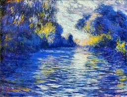 morning on the seine a french river iv original by claude monet this is my digital painting of claude monet s painting morning on