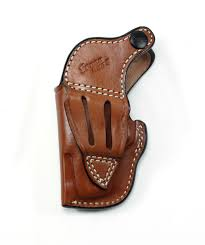 sd beez leather s w j frame 2 holster with retention strap for hammerless revolvers