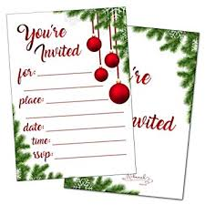 Christmas Holiday Invitations Christmas Party Invitations With Envelopes Holiday Invitations Winter Snowflake New Years Bridal Or Baby Shower Invite Wedding Rehearsal Dinner