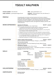 Resume Examples By Real People Assistant Art Director Resume