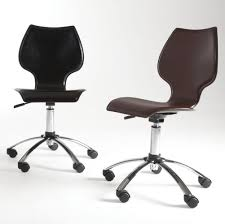 office guest chairs armless boss deluxe posture task rolling fresh desk chair casters fice leather with