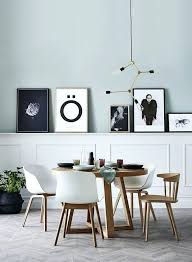 scandinavian dining room get the look with our round dining table in ash and white dining chairs scandinavian dining room sets