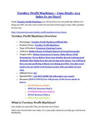Simple Products Profit Turnkey Profit Machines Review Turnkey Profit Machines