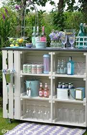 diy outdoor garden furniture ideas. put similar where gap in patio is diy outdoor bar full instructions with plans using ikea wooden crates and decking diy garden furniture ideas o