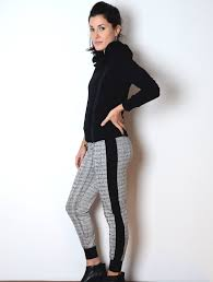 Patterned Joggers Extraordinary Patterned Cropped Joggers Simulacra