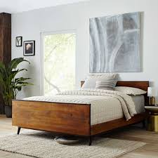 west elm mid century bed. Exellent Mid Lars MidCentury Bed To West Elm Mid Century E