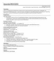 Skin Care Resume Skin Care Trainer Resume Sample Trainer Resumes Livecareer