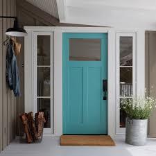 white craftsman front door. Door With Sidelights White Craftsman Front Inside Turquoise Cottage F