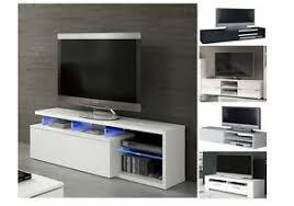 Modern <b>TV Cabinet</b> Marco <b>TV Unit</b> 3 Doors High Gloss LED Lights ...