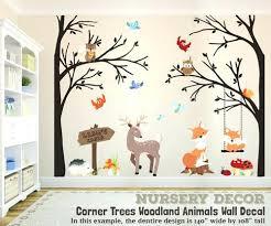 woodland creatures nursery decor