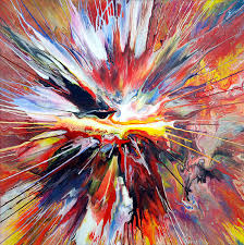 abstract spin painting 23 by mark chadwick