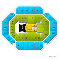 Rupp Arena Seating Chart Elton John Lexington Tickets For Rupp Arena 6 5 20