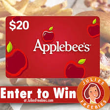 here is an offer where you can enter to win an applebee s gift card from intouch
